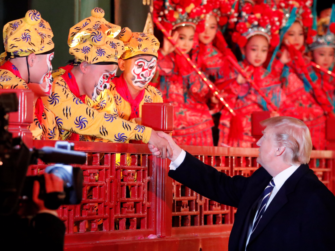 Among the most effective CEOs in China hinted that Trump's trade war would not injure its 'self-dependent' market of 1 billion customers
