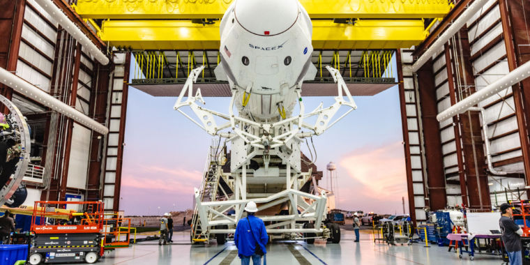 After Thursday test shooting, SpaceX might be a month from industrial team launch