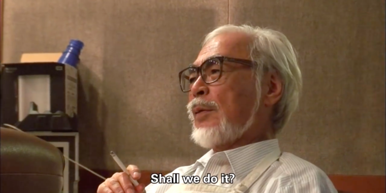 Hayao Miyazaki doc: An analog animation master discovers brand-new technical difficulties