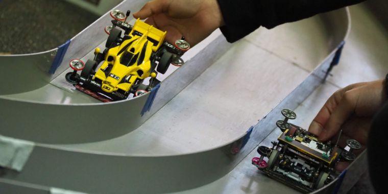 Step inside New York City's competitive slotcar racing scene
