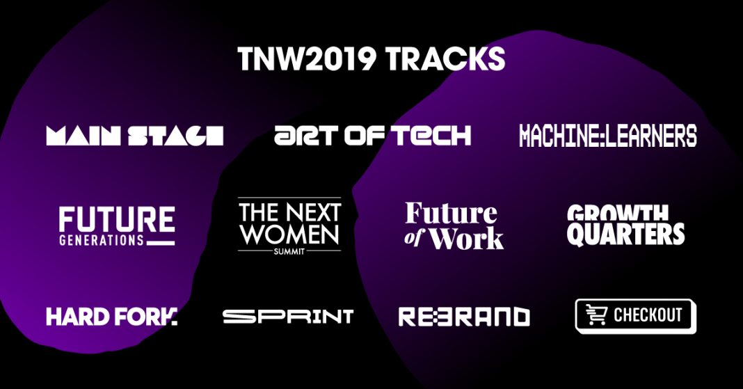 Take A Look At TNW2019's 11 brand-new tracks