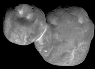 The current photo of Ultima Thule exposes an extremely smooth face