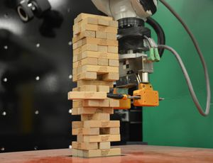This clever, nimble MIT robotic plays a mean video game of Jenga