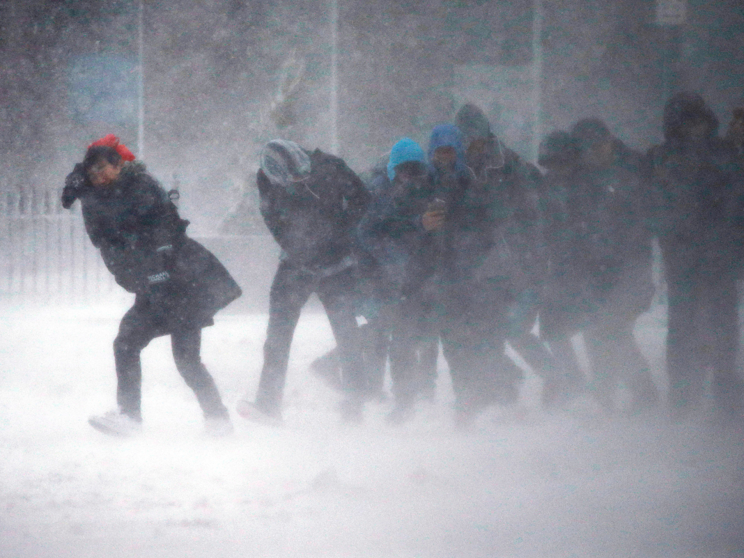 Parts of the East Coast simply got struck by a 'snow squall'– here's what that is