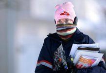 U.S. Postal Service Suspends Mail Deliveries In 10 States Throughout Polar Vortex