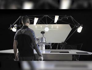Festo constructed the desk of the future video
