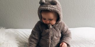 How to Gown an Infant in Winter