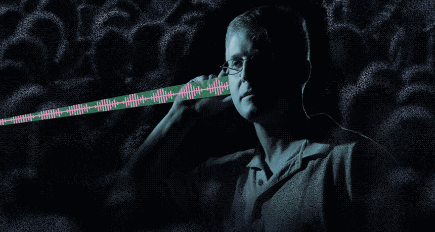 Lasers might send out messages right to a listener's ear