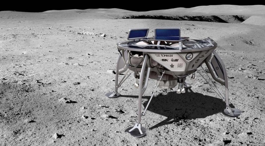 First Private Lunar Spacecraft Shoots for the Moon