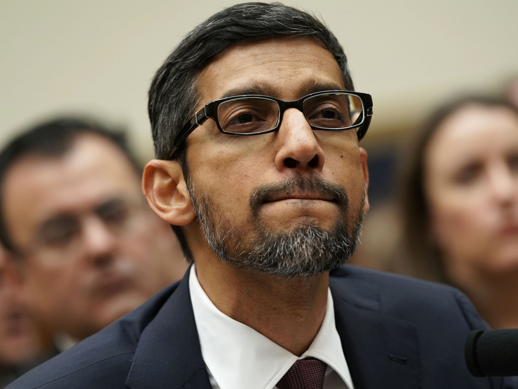 Worker self-confidence in Google CEO Sundar Pichai and his management group is supposedly at a six-year low (GOOGL, GOOG)