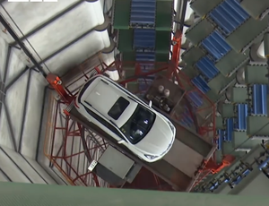 This garage in China imitates your individual valet video