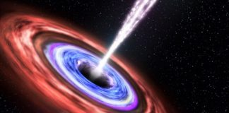Great void jets might expose information of occasion horizon