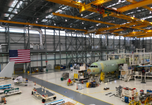 Have a look at the $600 million Alabama factory where Airplane develops jets for American, Delta, and JetBlue
