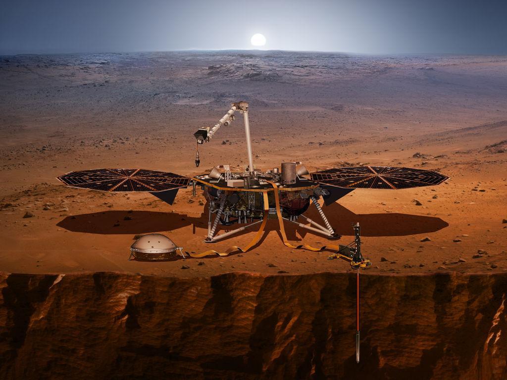 The Splendid Mechanical Mole Of Mars
