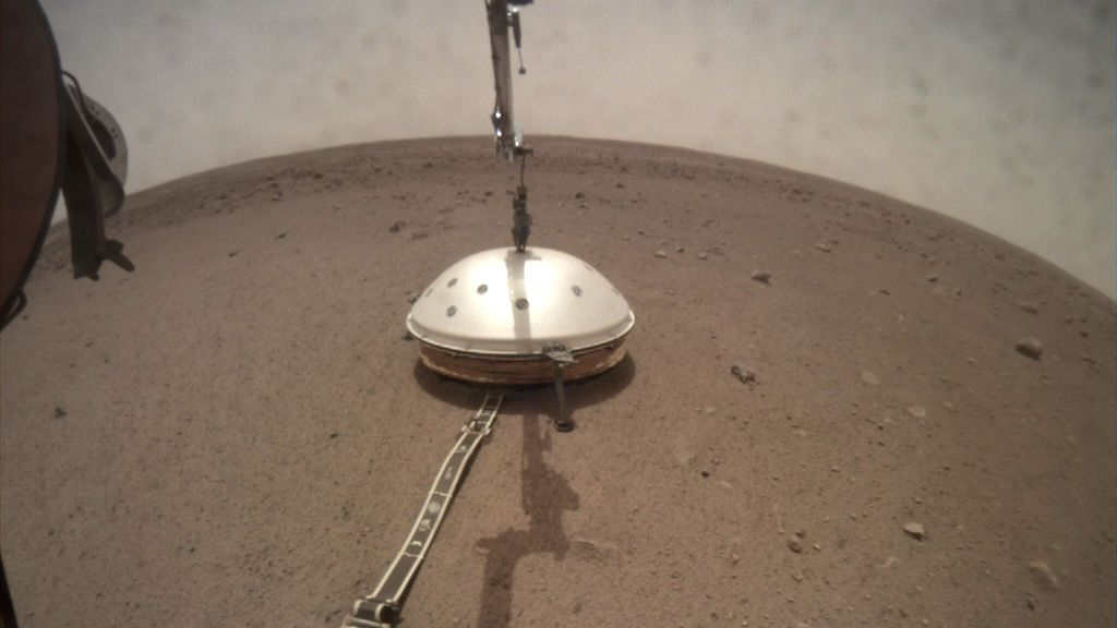 InSight Simply Put a Windscreen Over its Seismometer