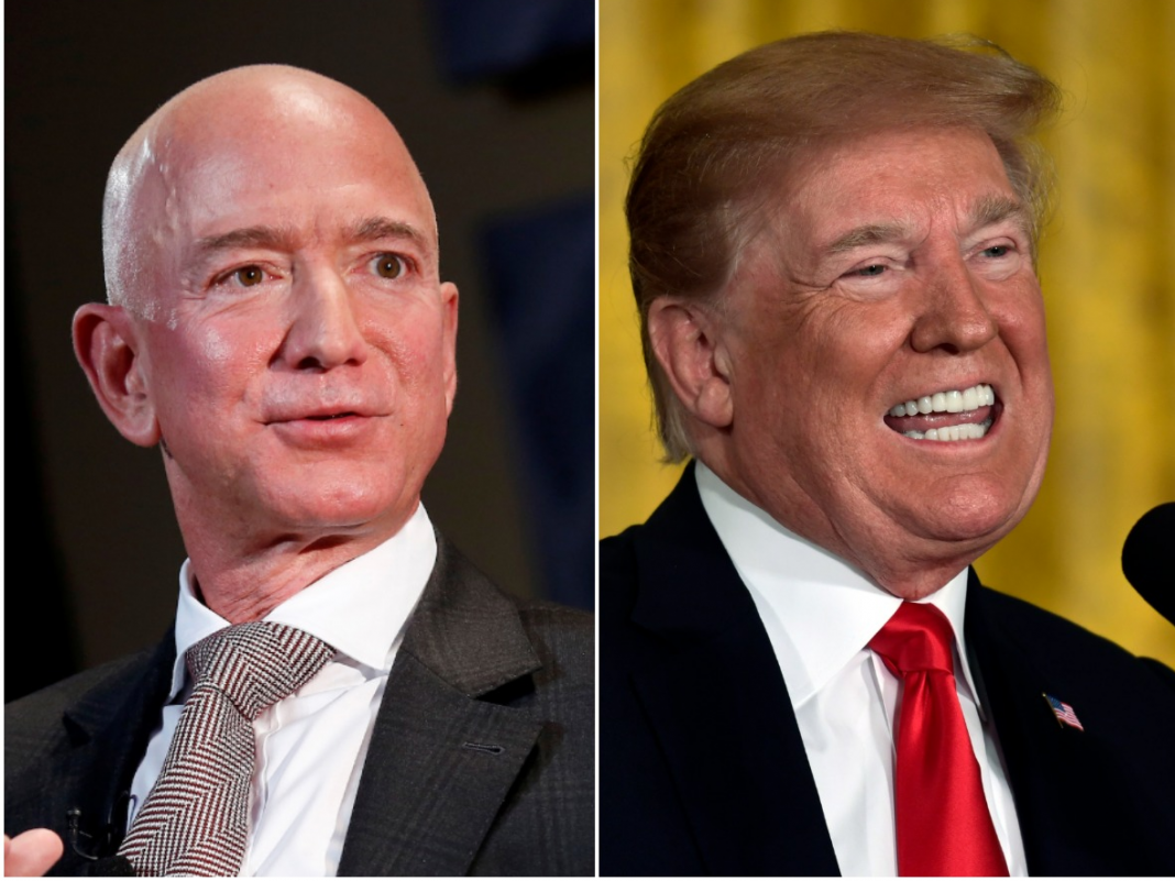 Jeff Bezos basically implicated the National Enquirer of having a political intention for exposing his affair, and insinuated a Trump connection (AMZN)