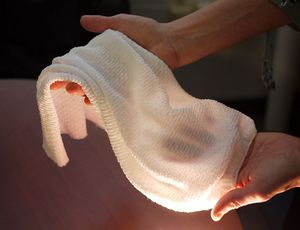 Futuristic cloth adjusts with the temperature to maintain you cozy