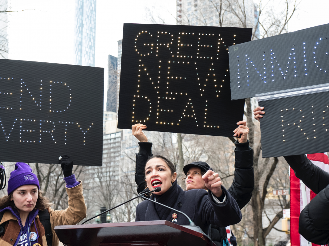 Alexandria Ocasio-Cortez calls the Green New Offer the 'moonshot' of our generation, and she simply launched the fundamentals of her enthusiastic strategy