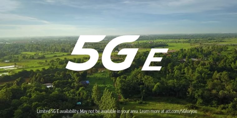 "AT&T taken legal action against by Sprint, should safeguard choice to inform users that 4G is ""5G E"""