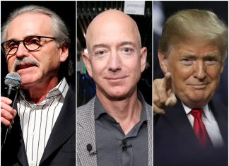 Here's the total timeline of the fight in between Jeff Bezos and the National Enquirer, consisting of the ties to President Trump (AMZN)