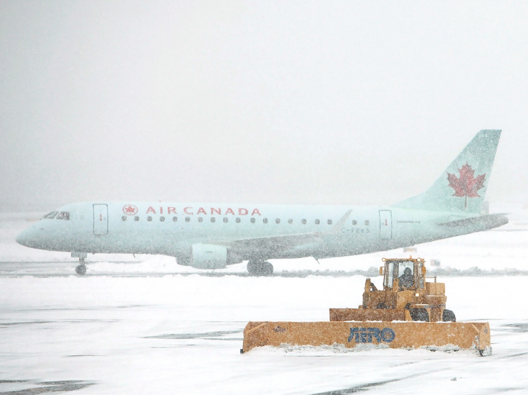 Countless flights canceled as winter season weather condition knocks both cruises (AAL, DAL, LUV, UAL)