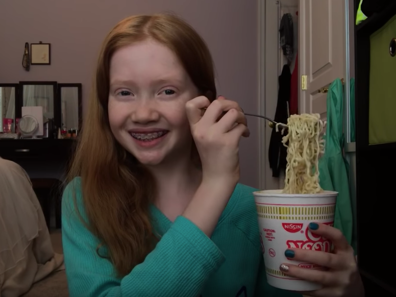 A 13- year-old lady makes as much as $1,000 a day producing ASMR videos as YouTube works to keep its kid stars safe (GOOG, GOOGL)