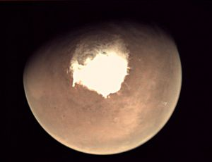 Researchers believe Mars lake might be produced by current volcanic activity