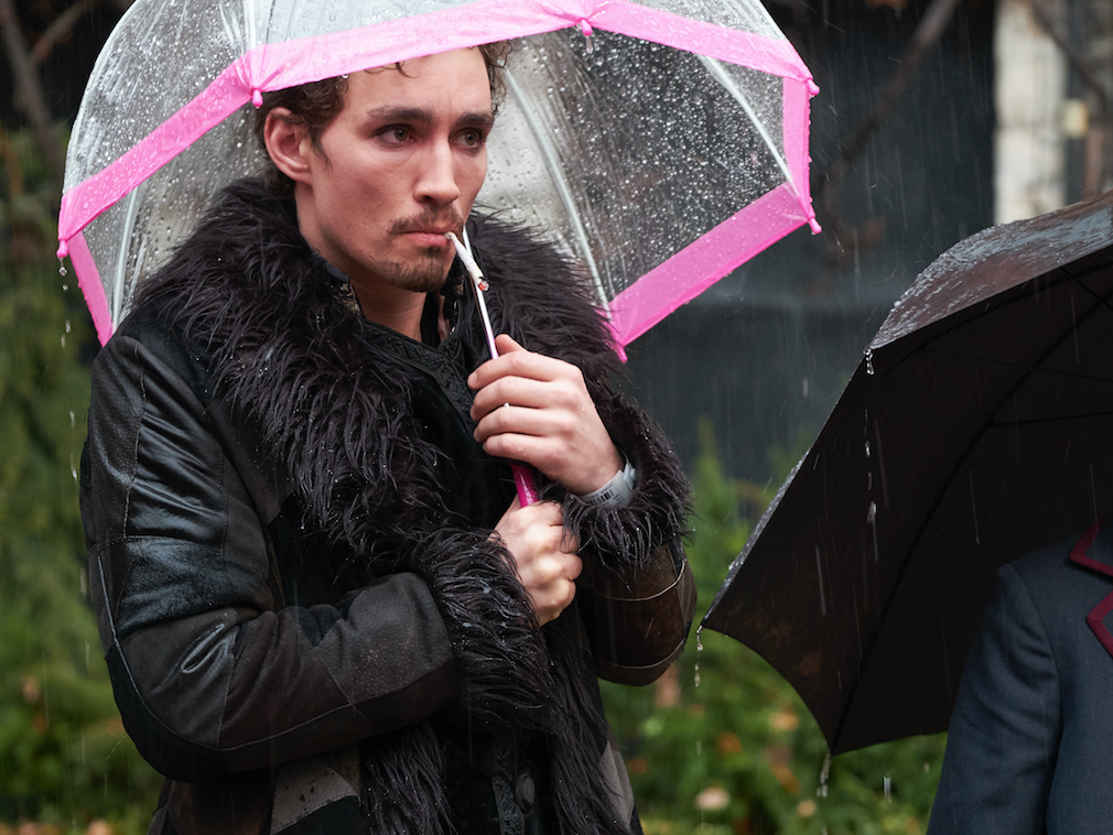 Why Netflix was the ideal location to bring 'The Umbrella Academy' to life