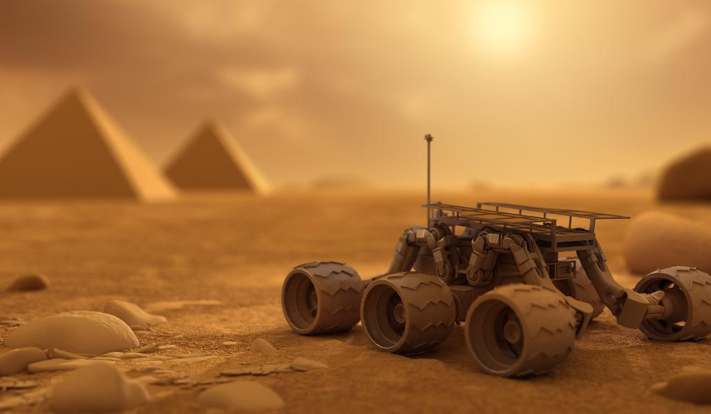 Archaeology On Mars – From The Fantastical To The Genuine