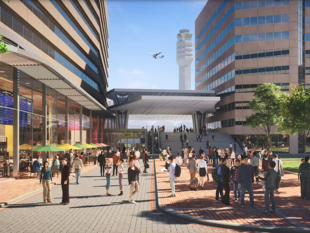 Virginia is now the sole winner of Amazon's HQ2. Here's what its prepared area might appear like.