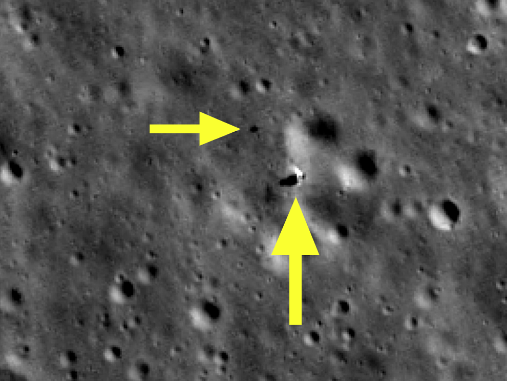 Fantastic NASA satellite pictures reveal China's brand-new lunar lander and rover on the far side of the moon