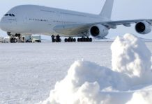 Personal cabins, flying bars, and numerous seats– goodbye, Airplane A380