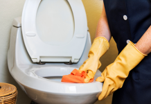 The toilet isn't the dirtiest location in your house