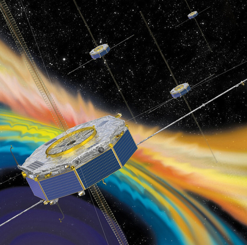 Plasma Waves Are Cooking Electrons in Earth's Magnetic Guard