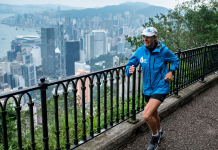 A 48- year-old CEO set out to run 100 marathons in 100 days. Pictures reveal her heart-wrenching journey all over the world.