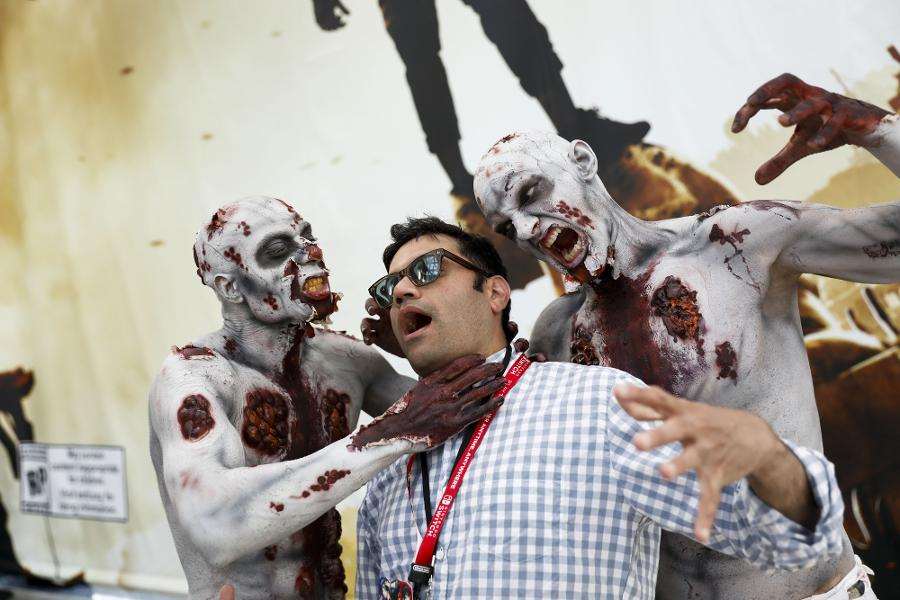 Here's Why We Can't Get Enough Of The Zombie Armageddon