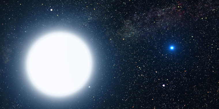 A 5km asteroid might quickly occult the brightest star in the sky