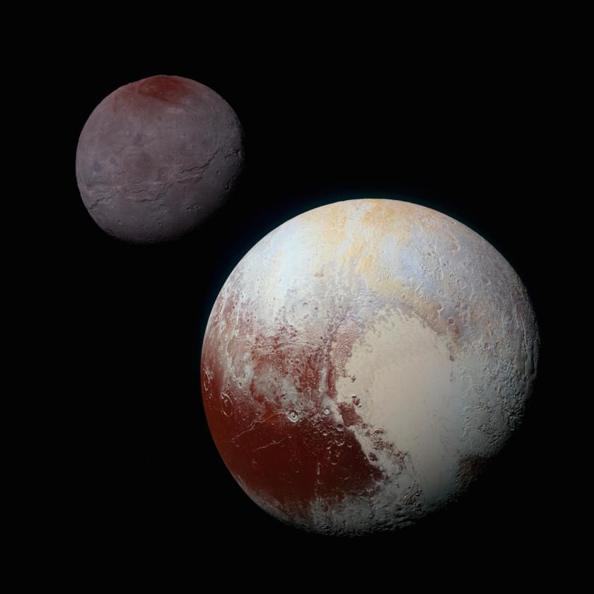 Researchers Commemorate Pluto's Discovery With A Retrospective Of Its Biggest Images