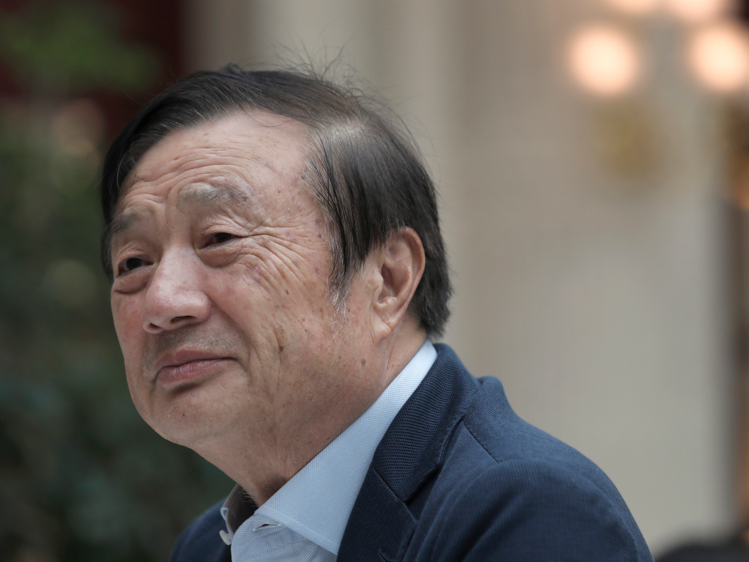 'There's no chance the United States can squash us': Huawei's creator released a bold message to Trump's administration