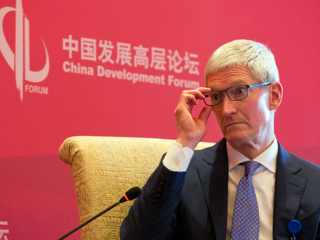 HSBC keeps pounding the table on Apple's downturn in China (AAPL)