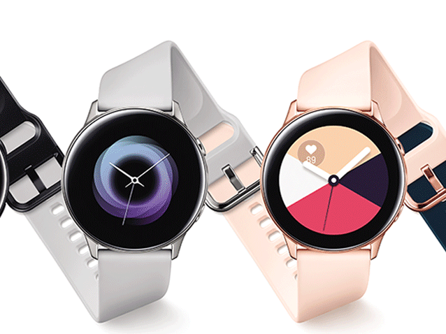 Samsung simply exposed the Galaxy Watch Active, its brand-new opposition to the Apple Watch