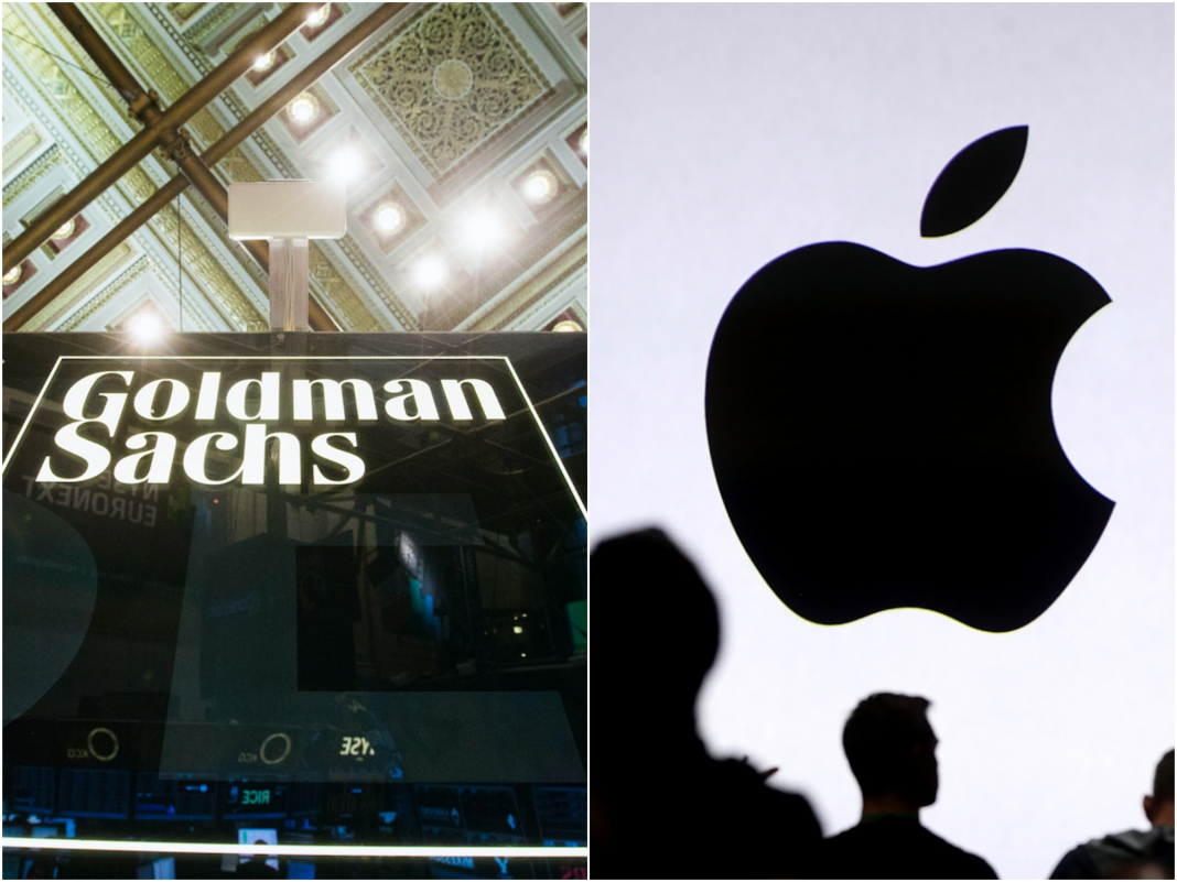 Goldman Sachs and Apple are apparently partnering to release a brand-new iPhone-linked charge card (GS, AAPL)