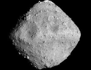 View Japan's Hayabusa spacecraft shoot a bullet at an asteroid Thursday