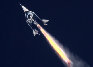 Virgin Galactic simply soared its very first lady past the edge of area– however Jeff Bezos states its astronauts have 'asterisks' beside their names