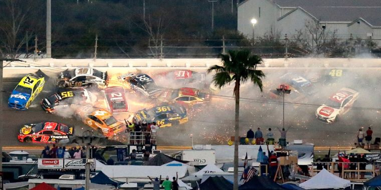 It was a wreck-filled start of the year for NASCAR at the Daytona 500