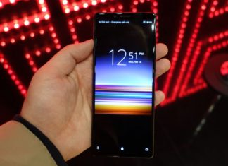 Sony's newest flagship phone is the 21:9 Xperia 1, and it's extremely high