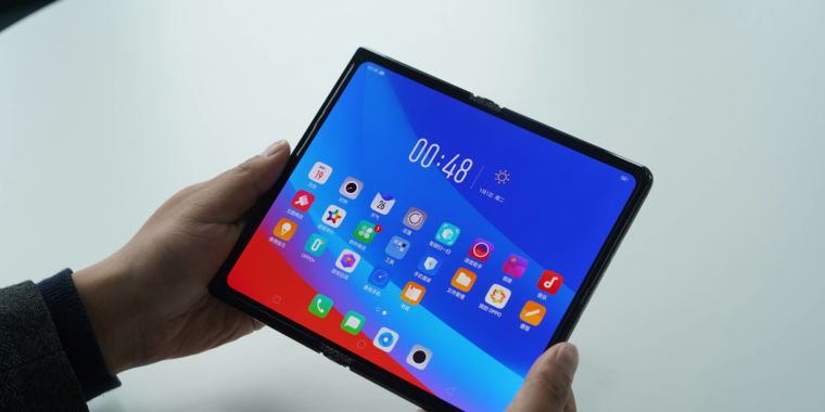 Oppo's collapsible smart device is another futuristic wraparound display screen gadget