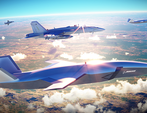Boeing's 'faithful wingman' drone can fly along with piloted airplane