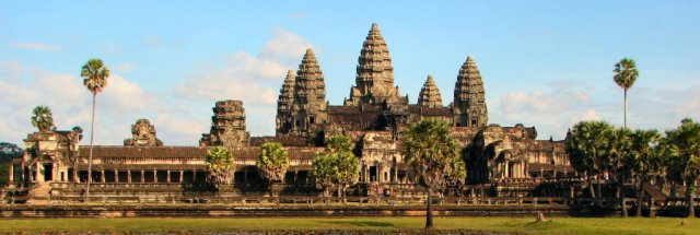 The city of Angkor passed away a sluggish death