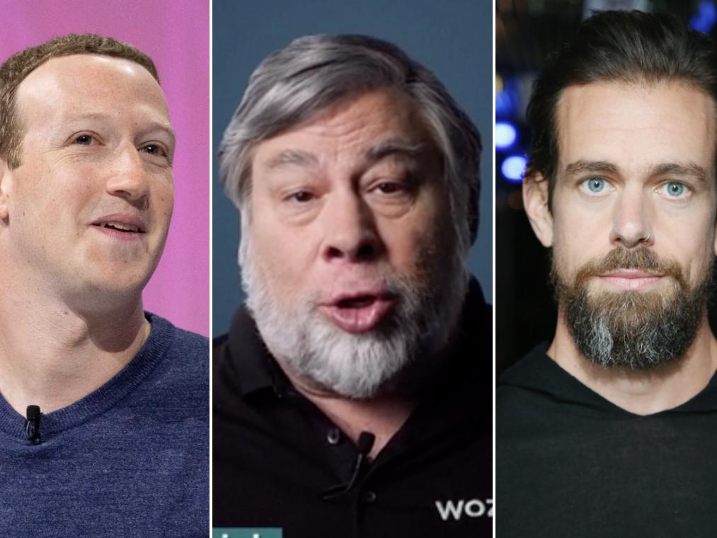 Apple cofounder Steve Wozniak: Jack Dorsey is doing a much better task of combating tech scandals than Mark Zuckerberg